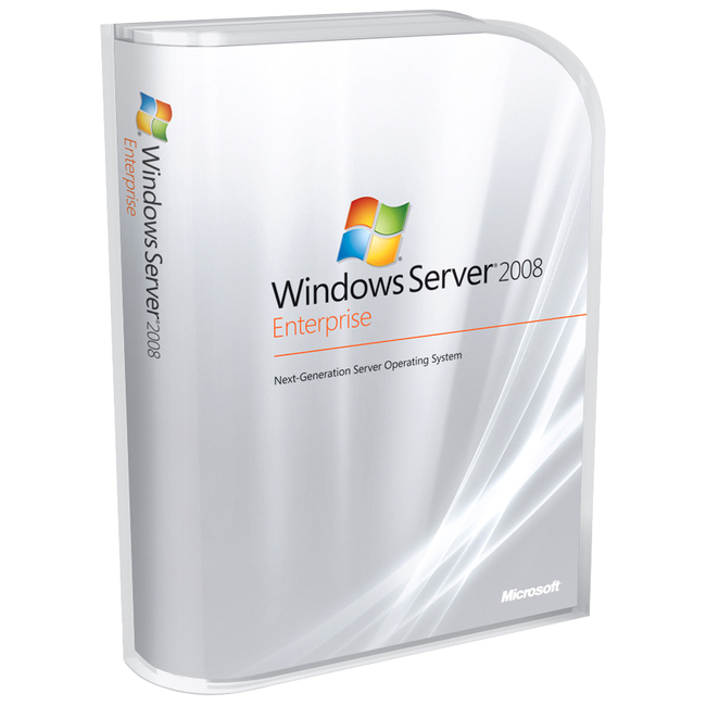 HP Microsoft Windows Server 2008 Enterprise - License and Media - 1 Server, 10 CAL
