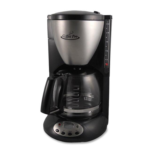 CFPCP12BP Coffee Pro 12-Cup Euro-Style Coffeemaker photo