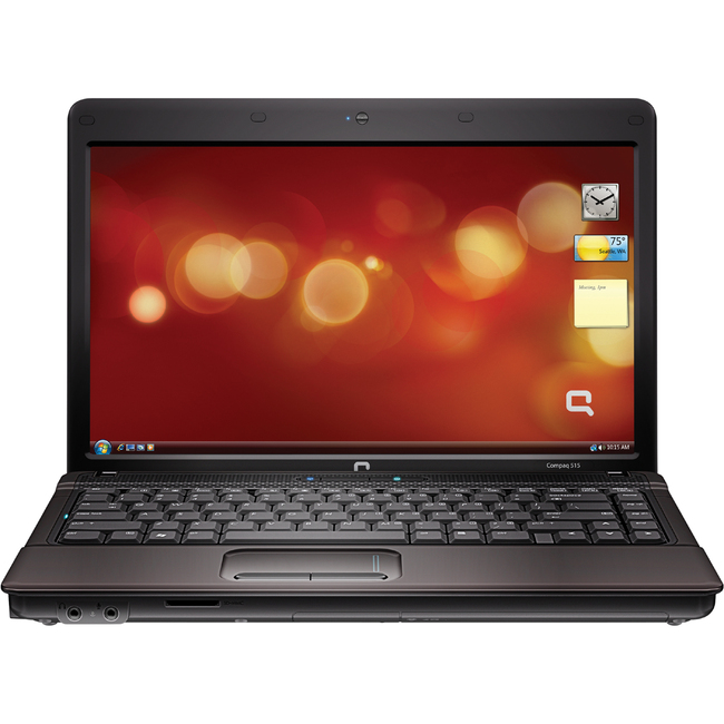 "Compaq 515 WH249UT 14"" LED Notebook - AMD - Athlon X2 QL-66 2.2GHz - Black"