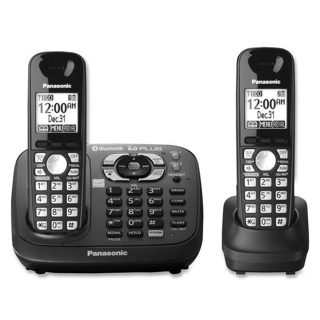 Panasonic KX-TG6582T DECT Cordless Phone