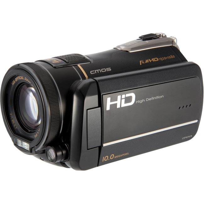 "DXG Pro Gear DXG-A85V Digital Camcorder - 3"" - Touchscreen LCD - CMOS"