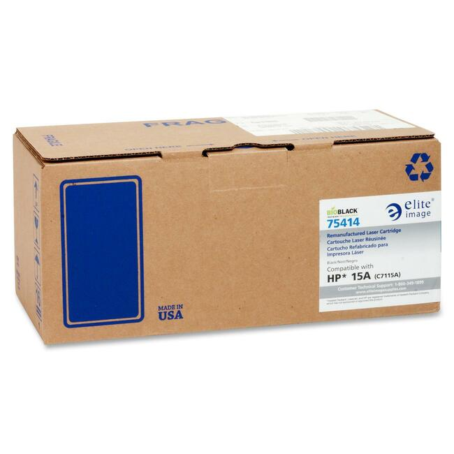 Elite Image Remanufactured HP 15A Toner Cartridge