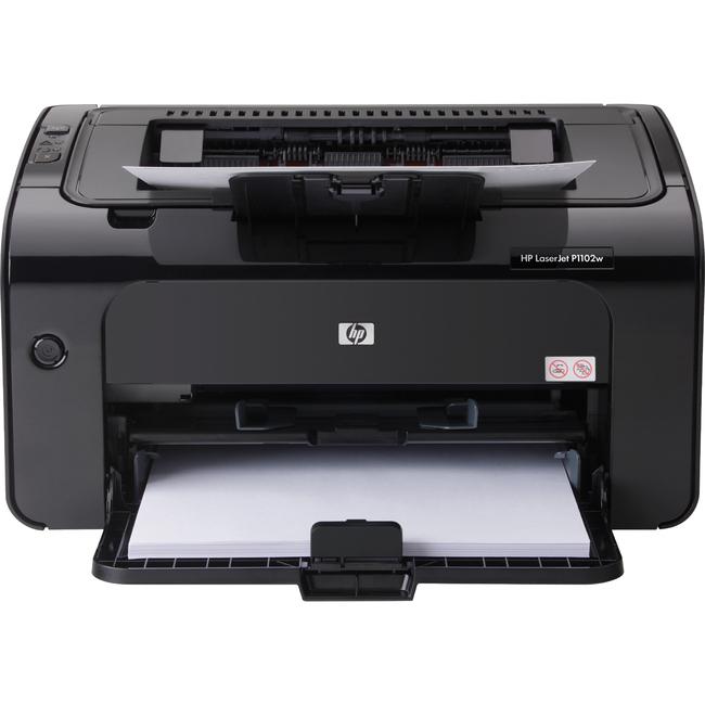 HP LaserJet P1102W Laser Printer - Monochrome - 1200 x 1200 dpi Print - Plain Paper Print - Desktop