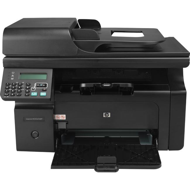 HP LaserJet Pro Pro M1212NF Laser Multifunction Printer - Monochrome - Plain Paper Print - Desktop