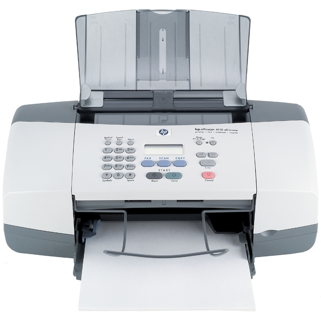 hp officejet 4100 software