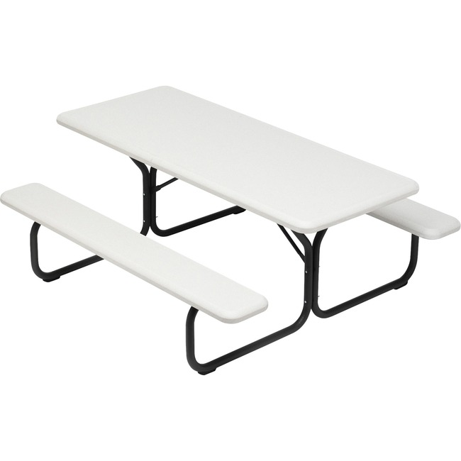 Iceberg IndestrucTable TOO 1200 Series 65923 Commercial Grade Picnic Table