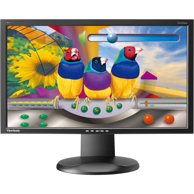 "Viewsonic Graphic VG2428Wm 24"" LCD Monitor - 5 ms"