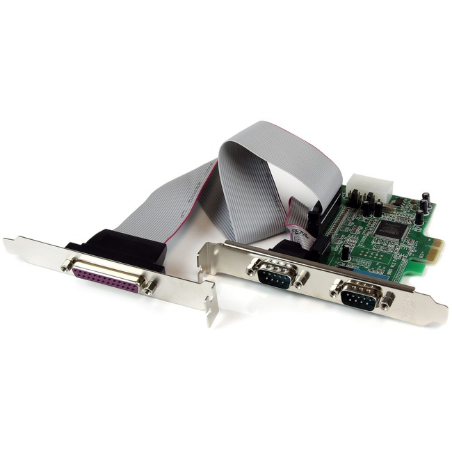 StarTech.com 2S1P PCIe Parallel Serial Combo Card