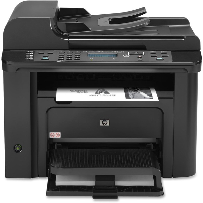 HP LaserJet Pro M1530 M1536DNF Laser Multifunction Printer - Monochrome - Plain Paper Print - Desktop