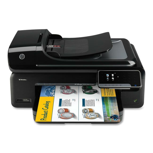 HP Officejet 7500A E910 Inkjet Multifunction Printer - Color - Photo Print - Desktop