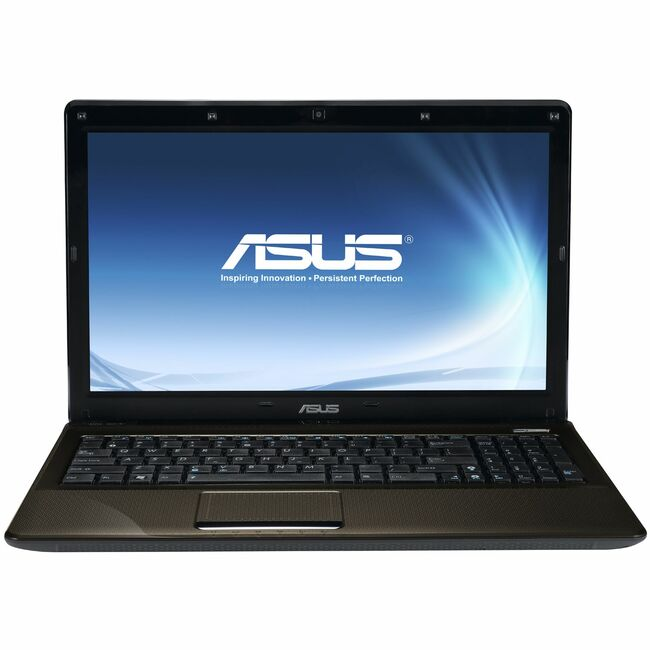 "Asus K52F-C1 15.6"" LED Notebook - Intel Core i3 i3-370M 2.40 GHz - Brown"
