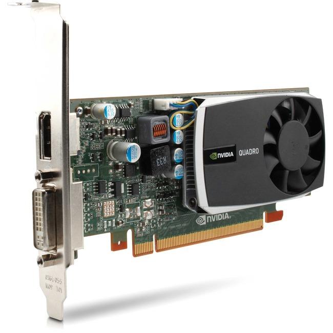 1GB HP Quadro 600 PCI Express 2.0 x16 GDDR3 DVI DisplayPort WS093AT