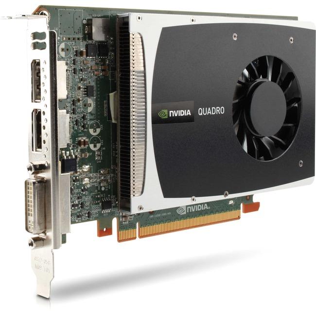 1GB HP WS094AT Quadro 2000 Graphics Card PCI Express 2.0 x16 1GB GDDR5 SDRAM