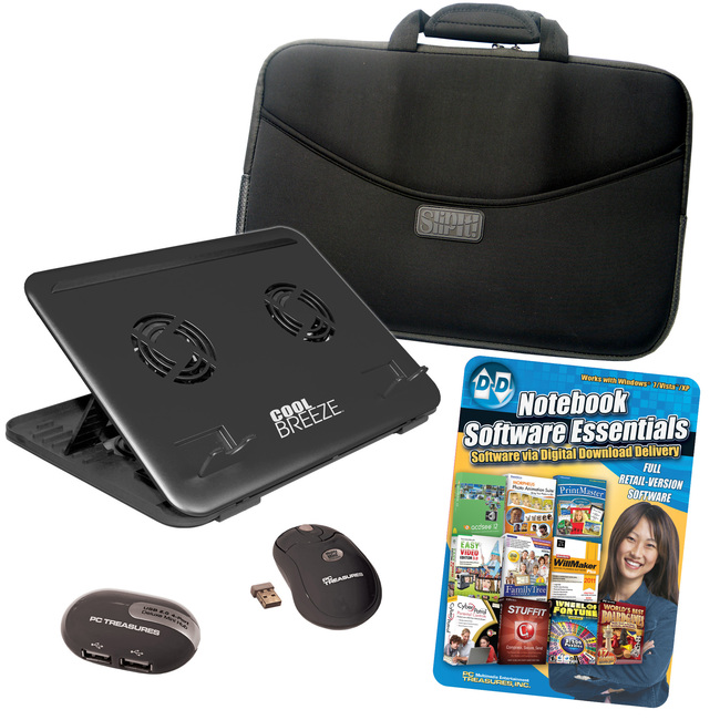"PC Treasures 15.6"" Notebook Accessory Kit"
