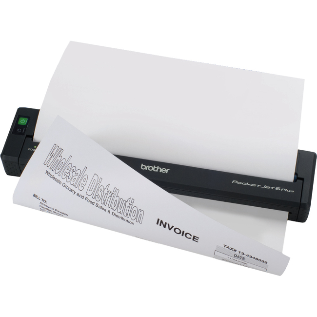 Brother Pocketjet 6 Plus Plain Paper Printer