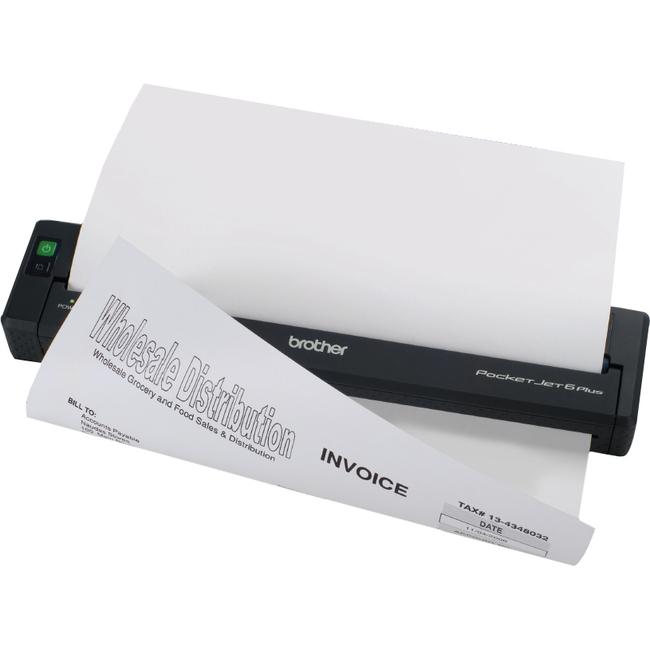 Brother Pocketjet 6 Plus Plain Paper Printer