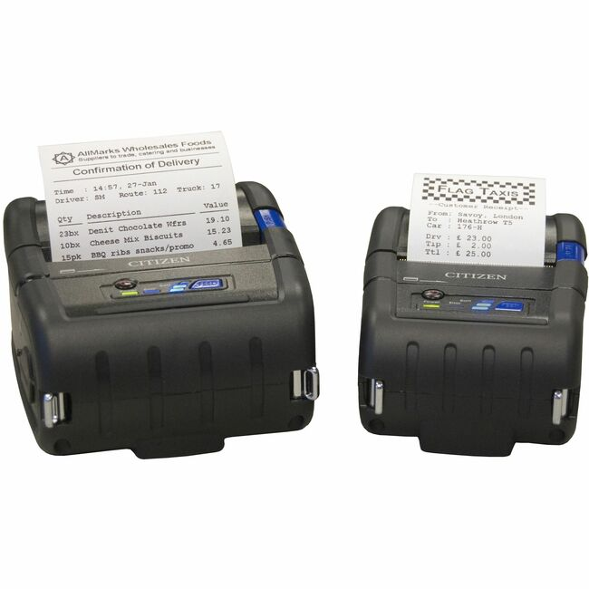 Citizen CMP-20 Direct Thermal Printer - Monochrome - Mobile - Label Print