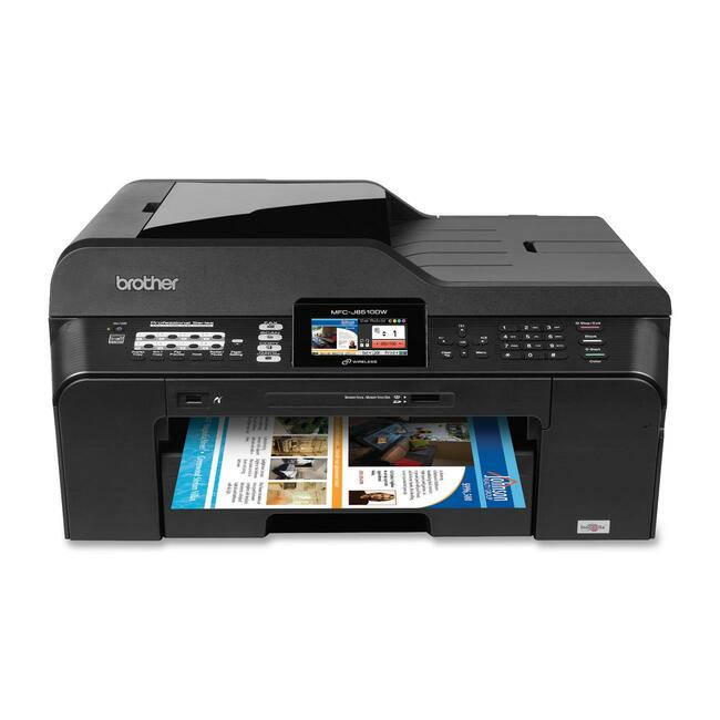 Brother MFC-J6510DW Inkjet Multifunction Printer - Color - Plain Paper Print - Desktop