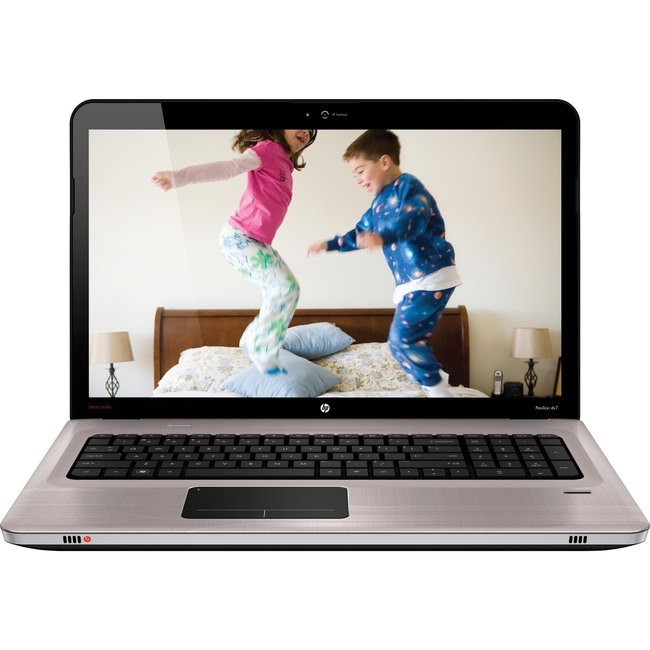 "HP Pavilion dv7-4200 dv7-4270us XZ286UA 17.3"" LED Notebook - AMD - Phenom II P960 1.8GHz - Brushed Aluminum"