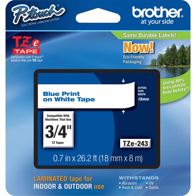 Brother TZ Lettering Label Tape