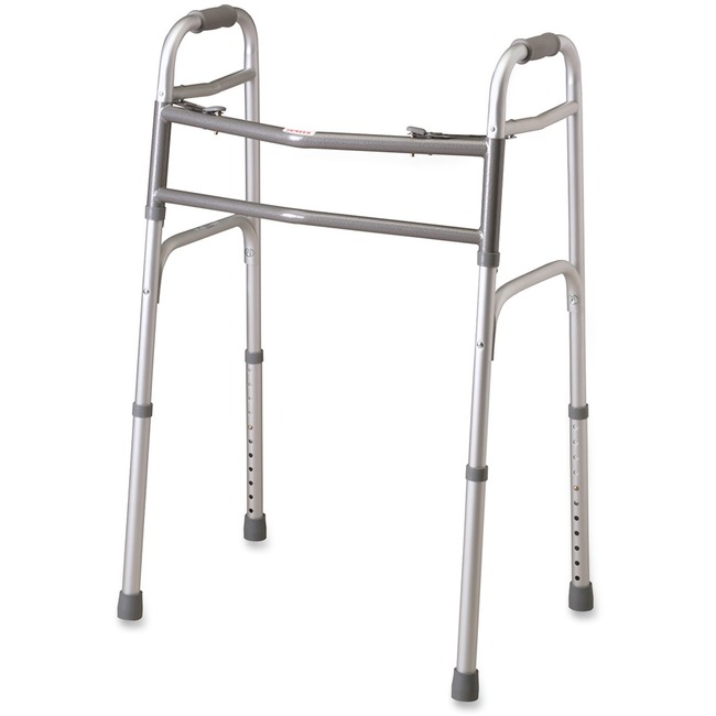Medline MDS864104H Walking Frame - 300 lb Load Capacity - Foldable