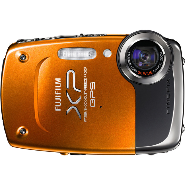 Fujifilm FinePix XP30 14.2 Megapixel Compact Camera - Orange