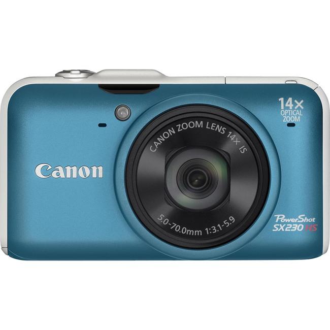 Canon PowerShot SX230 HS 12.1 Megapixel Compact Camera - Blue