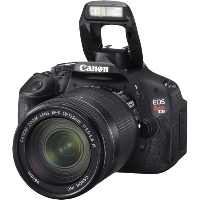 Canon EOS Rebel T3i 18 Megapixel Digital SLR Camera (Body with Lens Kit) - 18 mm - 135 mm