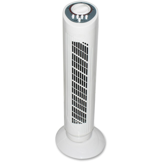 "The TFN508 30"" tower fan is super slim & ultra-powerful-3 speeds & oscillation"