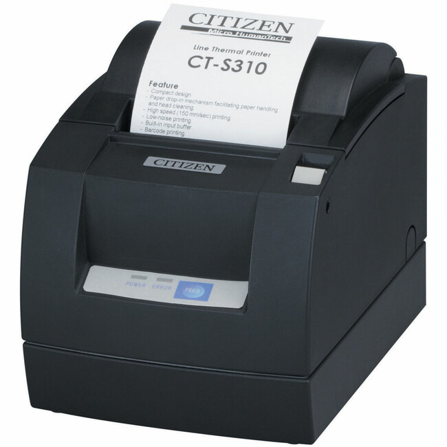 Citizen CT-S310II Direct Thermal Printer - Monochrome - Desktop - Receipt Print