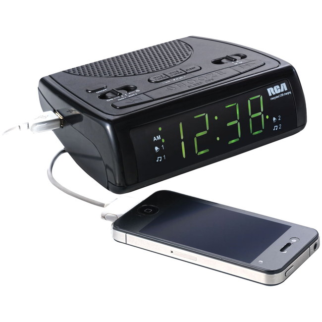 RCA RC107 Desktop Clock Radio