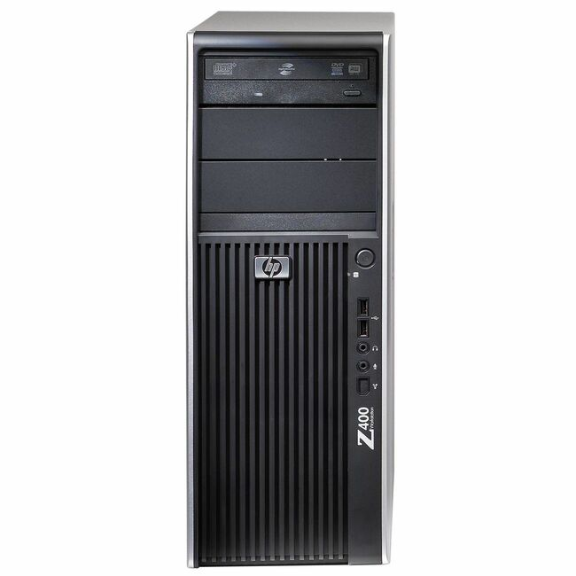 HP Z400 VA791UT Convertible Mini-tower Workstation - 1 x Intel Xeon W3565 3.2GHz