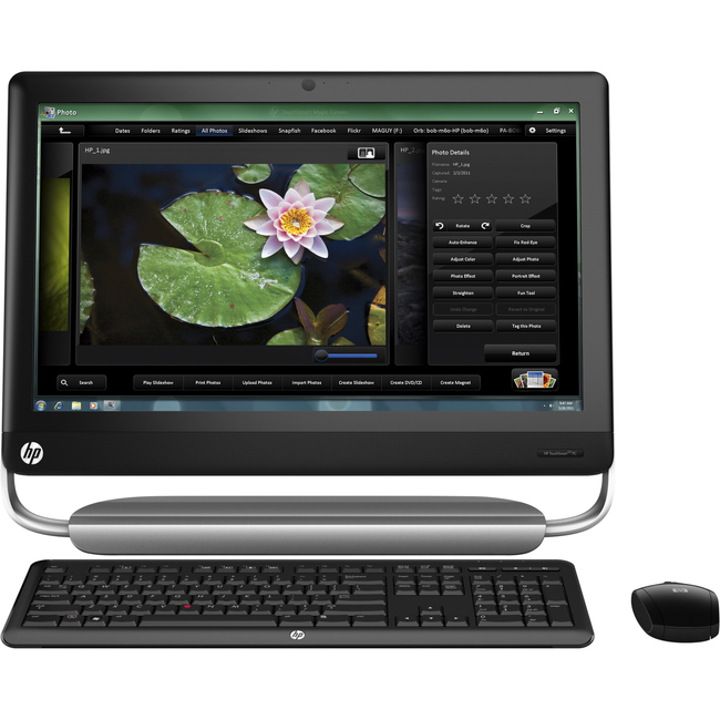 HP TouchSmart 320-1000 320-1050 QP789AA All-in-One Computer - AMD A6-3600 2.1GHz - Desktop