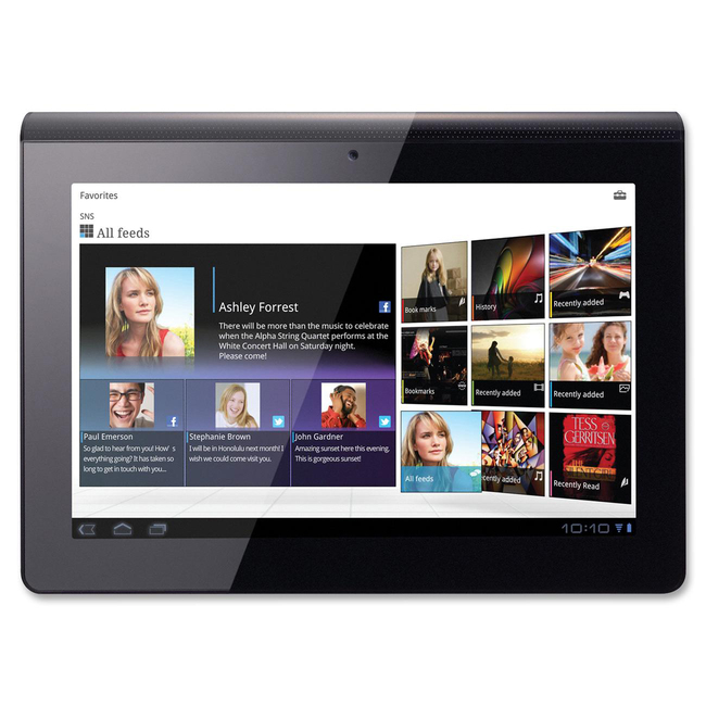 "Sony 16 GB Tablet - 9.4"" - NVIDIA Tegra 2 1 GHz"
