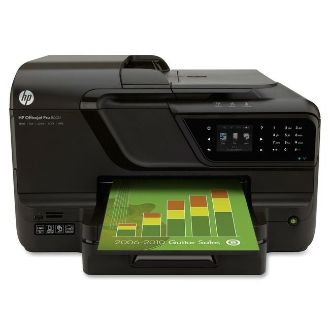 HP Officejet Pro 8600 N911A Inkjet Multifunction Printer - Color - Plain Paper Print - Desktop