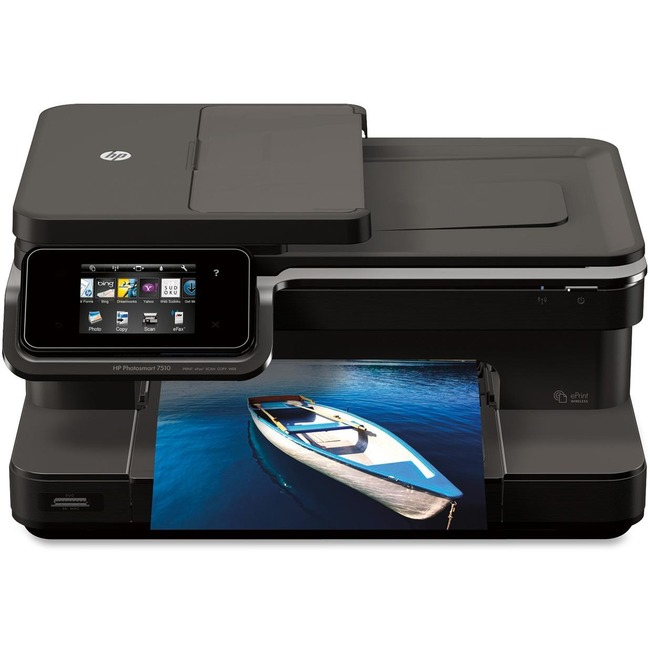 HP Photosmart 7510 C311A Inkjet Multifunction Printer - Color - Photo Print - Desktop
