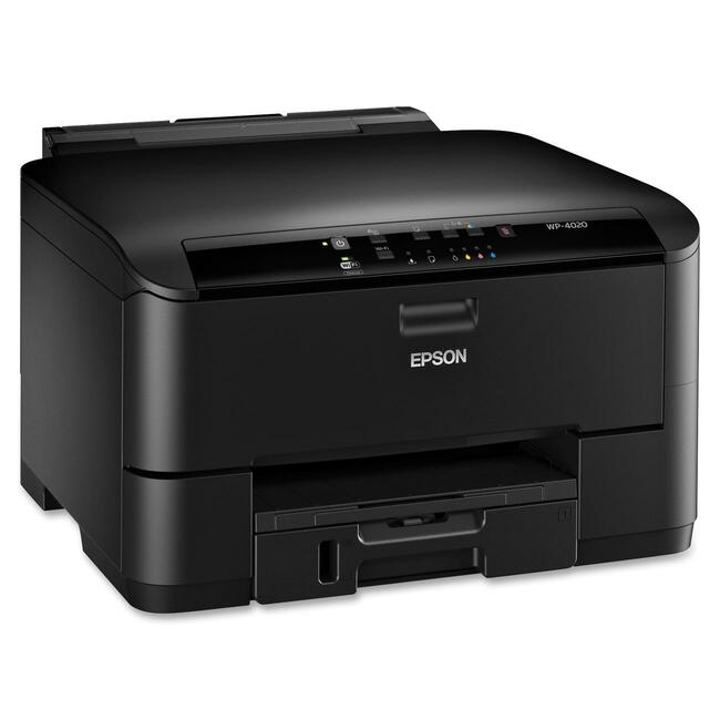 Epson WorkForce Pro WP-4020 Inkjet Printer - Color - 4800 x 1200 dpi Print - Plain Paper Print - Desktop