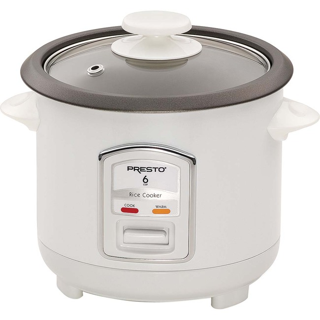 Presto 6-Cup Automatic Electric Rice Cooker
