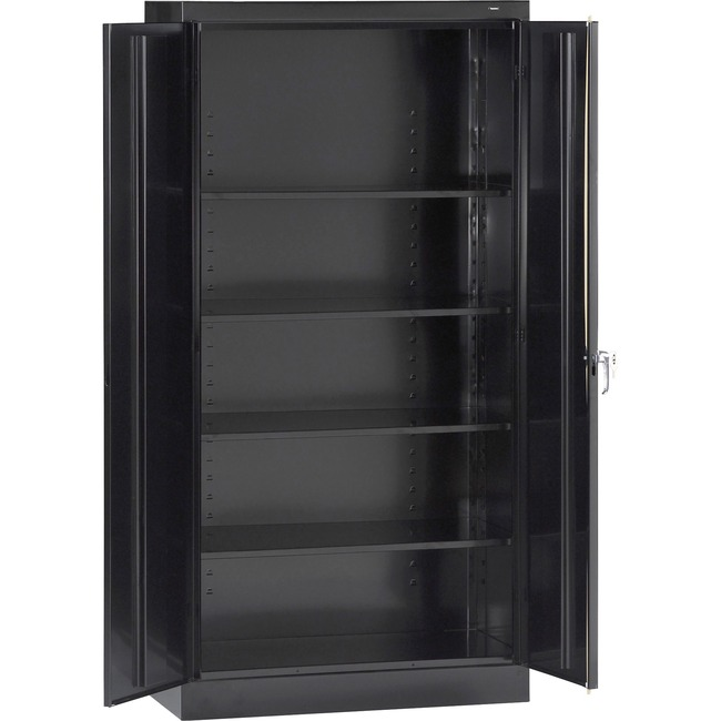 "Tennsco 7224 Standard Storage Cabinet - 36"" x 24"" x 72"" - Steel - 5 x Shelf(ves) -"