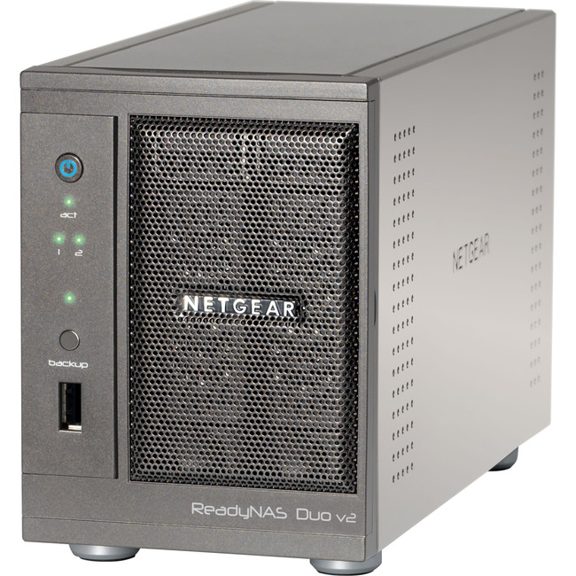 Netgear ReadyNAS Duo RND2110 Network Storage Server