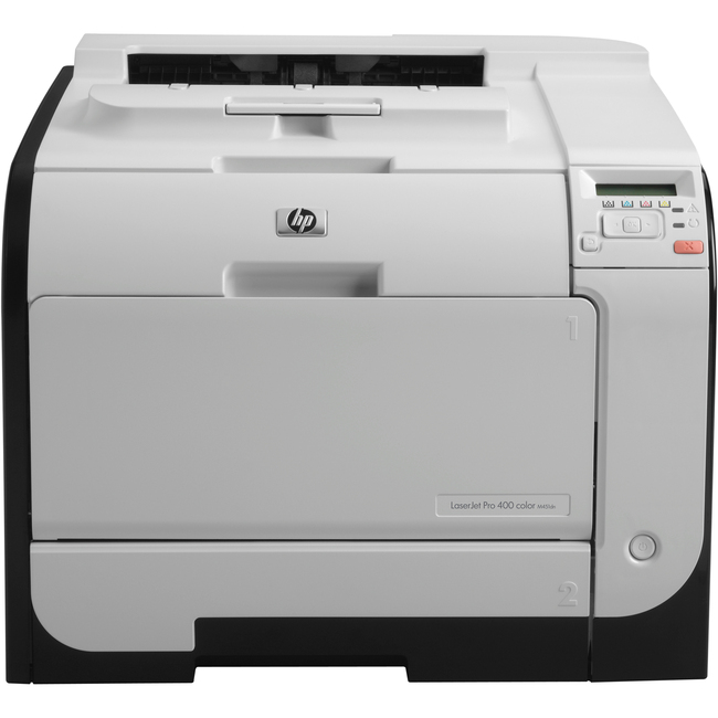 HP LaserJet Pro M451DN Laser Printer - Color - 600 x 600 dpi Print - Plain Paper Print - Desktop
