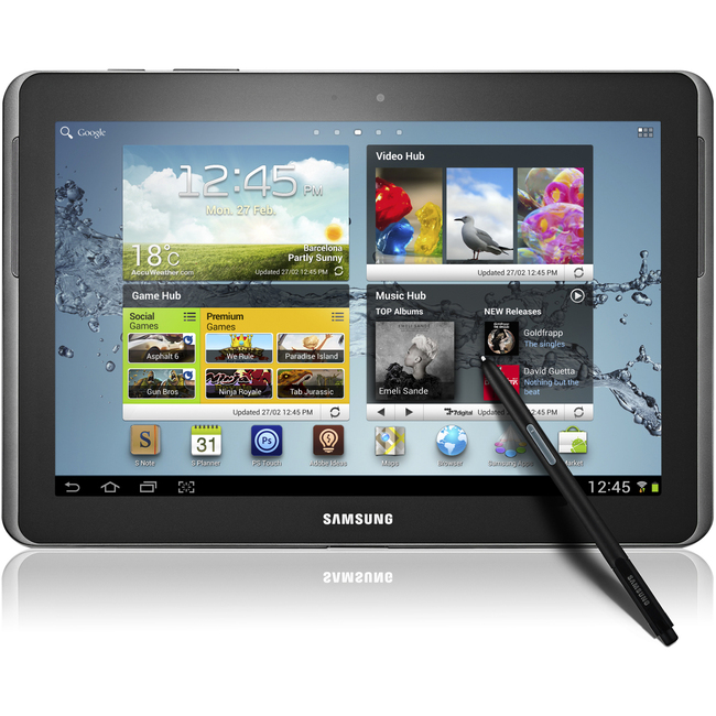 "Samsung Galaxy Note 10.1"" 16 GB Tablet - 1.40 GHz - Metallic Gray"