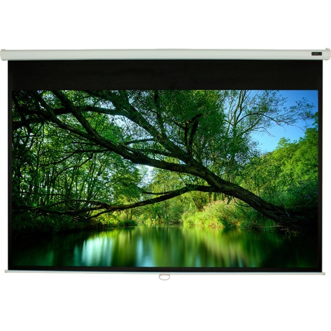 "EluneVision 120"" Manual Pull-Down Projector Screen"