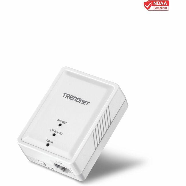 TRENDnet 500 Mbps Compact Powerline AV Adapter
