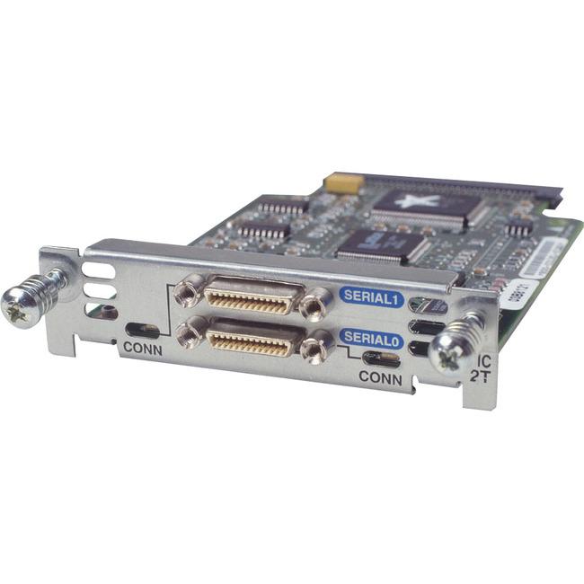 Description Cisco 2-Port Async/Sync Serial WAN Interface Card. Cisco