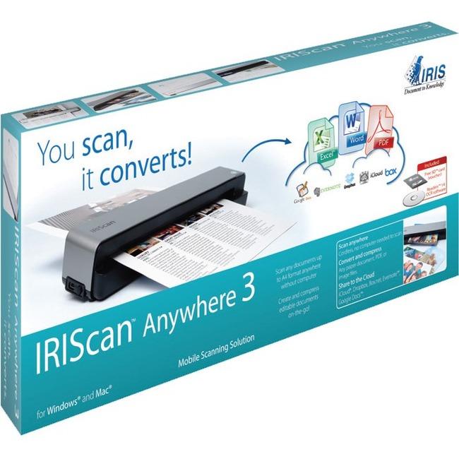 I.R.I.S IRIScan Anywhere 3