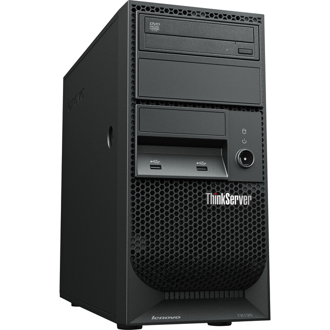 Lenovo ThinkServer TS130 110571U Tower Server - 1 x Intel Xeon E3-1245V2 3.4GHz