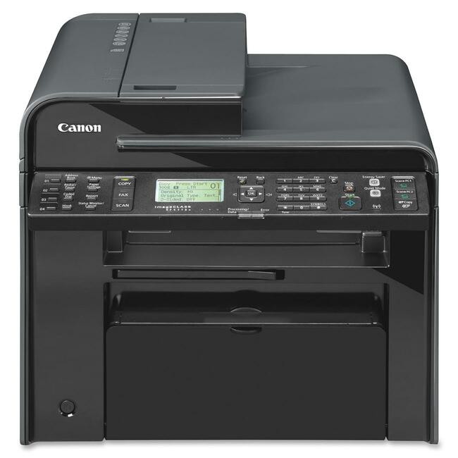 Canon imageCLASS MF4770N Laser Multifunction Printer - Monochrome - Plain Paper Print - Desktop