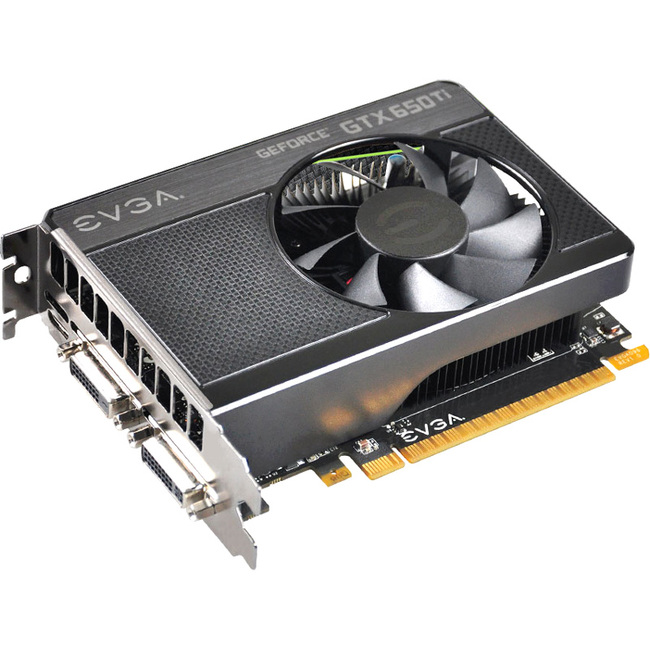 EVGA GeForce GTX 650 Ti Graphic Card - 1071 MHz Core - 1 GB GDDR5 SDRAM - PCI Express 3.0 x16