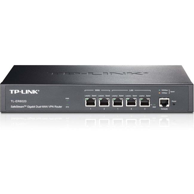TP-LINK SMB TL-ER6020 SafeStream? Dual-WAN VPN Router Brown Box
